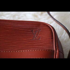 Louis Vuitton TROCADÉRO LEATHER HANDBAG Brown